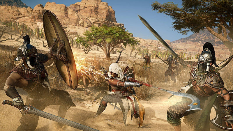 Assassin's Creed Origins - Spend Bitcoin