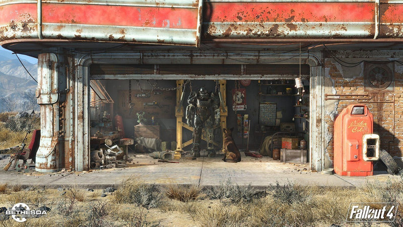 Fallout 4 (PS4) - Spend Bitcoin