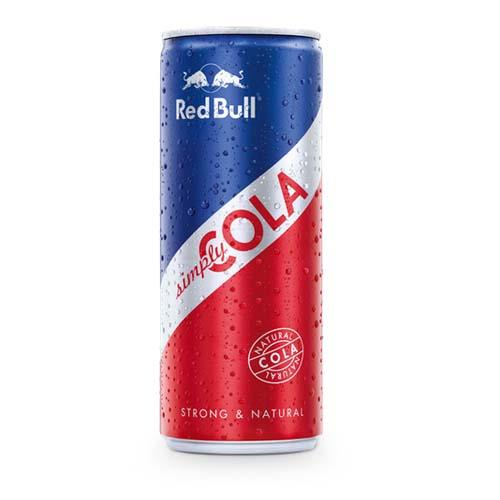 RED BULL SIMPLY COLA 25CL