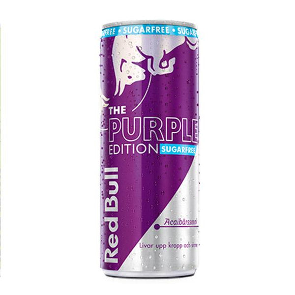 Red Bull Purple Edition Sockerfri 25cl