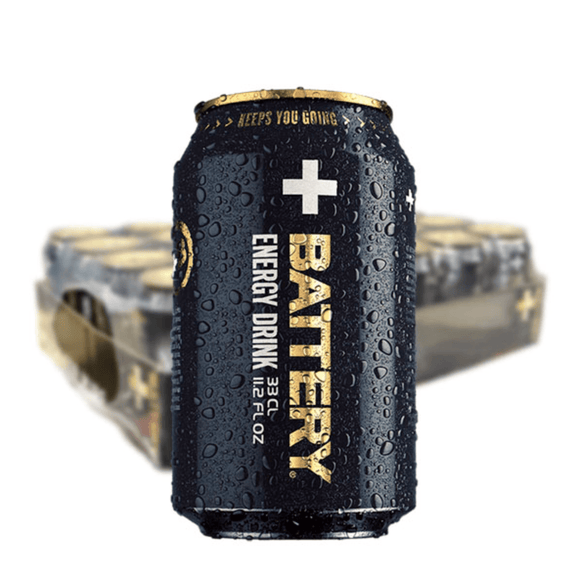BATTERY ENERGY DRINK 33CL – 24st