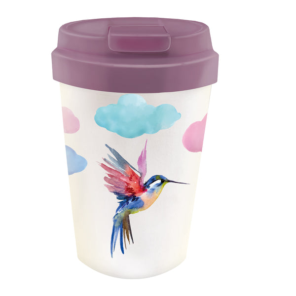 Easy Cup Watercolor Bird 350 ml