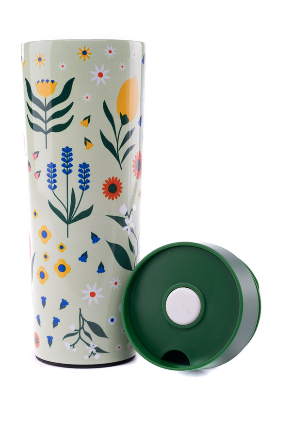 Thermos Verde Click and Drink 360 ml