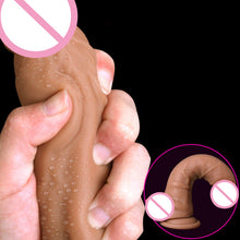 Soft Silicone Huge Dildo Suction Cup Strap on Male Artificial Penis