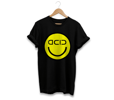"""ACID SMILEY"" Techno T-Shirt"