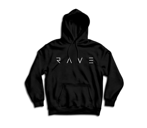 """RAVE"" Hooded Sweatshirt"