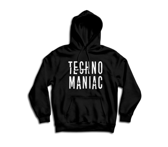 """TECHNO MANIAC"" Hooded Sweatshirt"