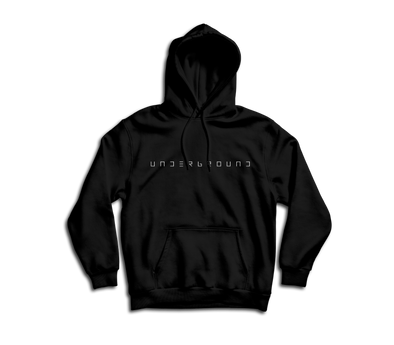 """UNDERGROUND"" Hooded Sweatshirt"