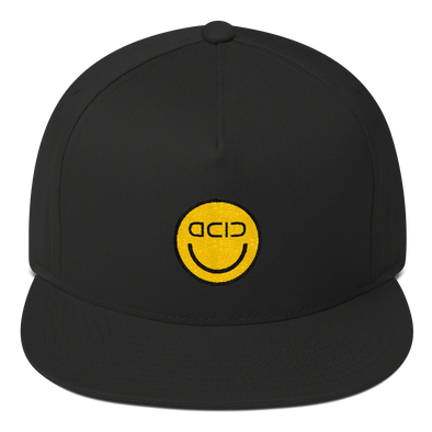 """GOLD ACID SMILEY"" Classic Cap"