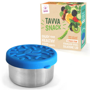 Tavva® Snack Small 3.3 oz Deluxe Stainless Steel Container