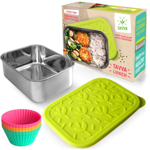 Tavva® Lunch+ 23oz Deluxe Stainless Steel Container