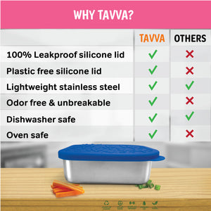 Tavva® Lunch 23 oz Deluxe Stainless Steel Container