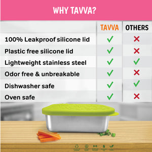 Tavva® Lunch 23oz Deluxe Stainless Steel Container