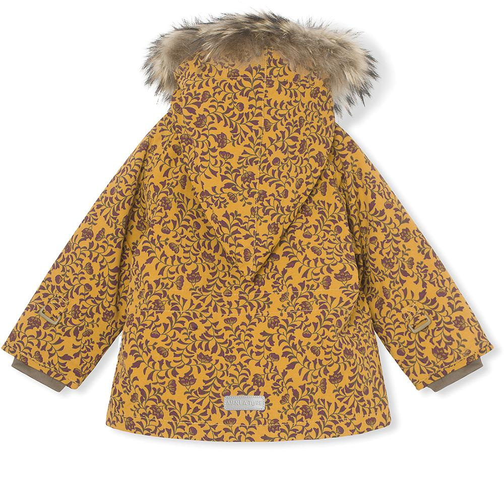 WANG FUR JACKET BUCKTHORN BROWN