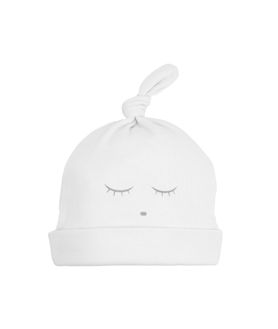 SLEEPING CUTIE TOSSIE HAT WHITE