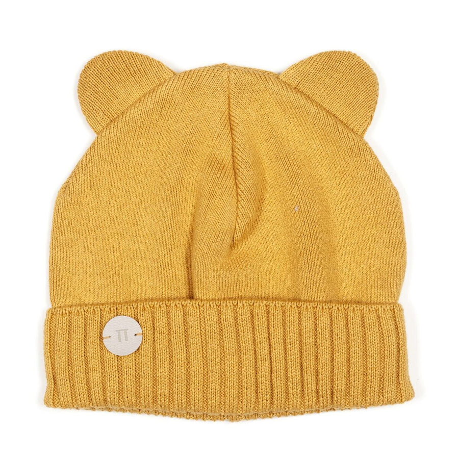 MINNIE BEAR HAT MUSTARD