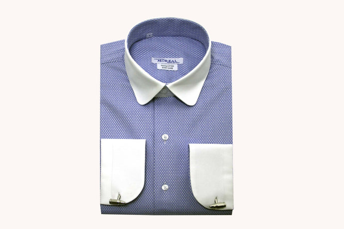 Camicia Slim Fit collo arrotondato