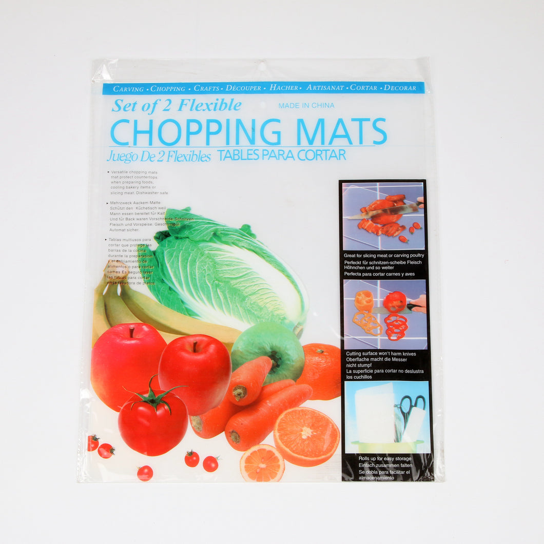Chopping Mat Flexible 2pcs