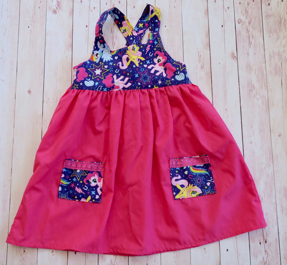 My Little Pony Dress - Size 2 - MillyCruze Clothing