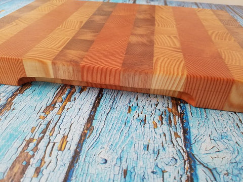 Mad Creations Chopping Block Butchers Block Cutting Board