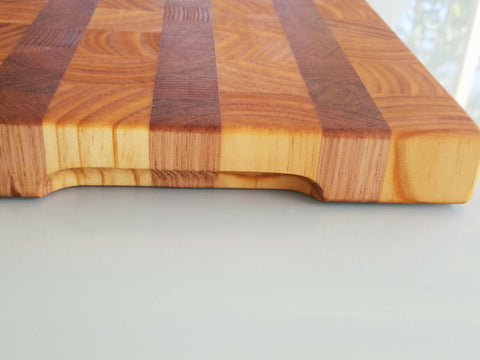 Mad Creations Tasmanian Oak and Pine Butchers Block #0012