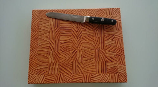 End Grain Cutting Board #0017