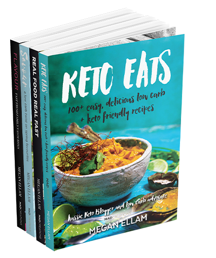 Keto Eats 4 eBook Bundle - Digital copies only