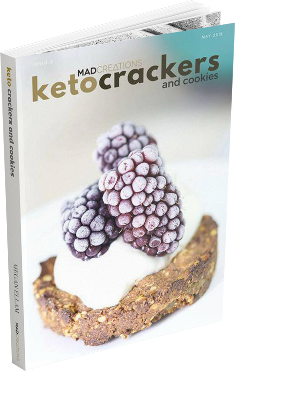 Keto Crackers and Cookies eBook