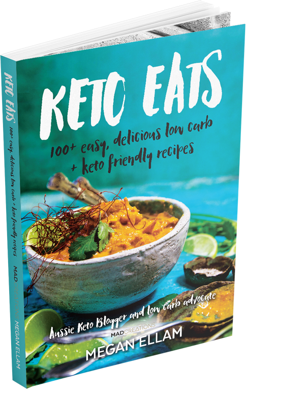 Keto Eats Hard Copy Book
