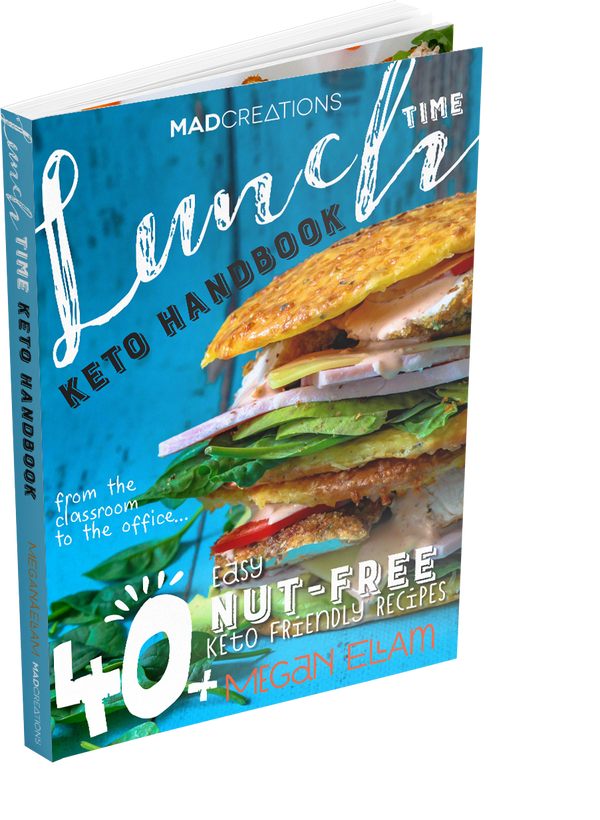 Lunch Time Keto eBook ONLY