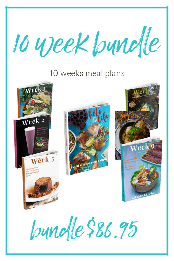 10 Weeks Meal Plans & Recipes