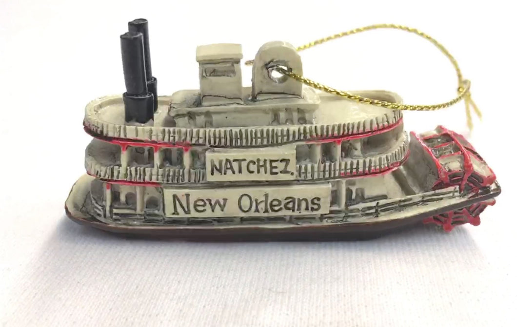 New Orleans Steamboat Ornament