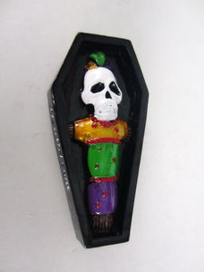 Voodoo Coffin Magnet