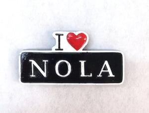I Love NOLA Street Sign Magnet