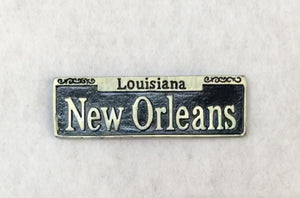New Orleans Street Sign Magnet