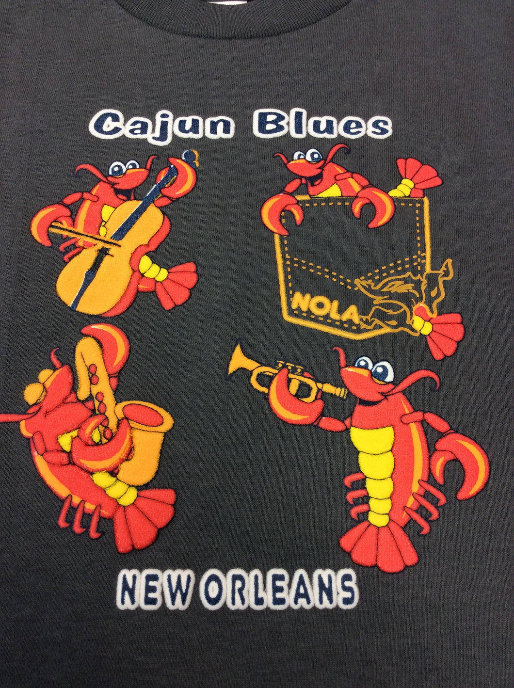 Cajun Blues Kids T-Shirt