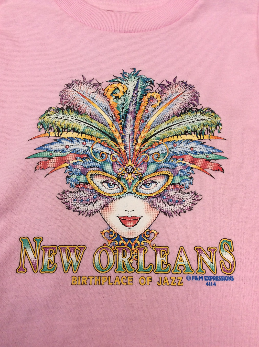 New Orleans Birthplace of Jazz Kids T-Shirt