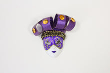 Face Mask Magnet with Headpiece (Multiple Colors)