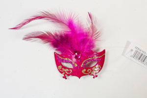 Eyelet Magnet with Center Feathers (Multiple Colors)
