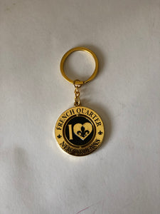 I Heart French Quarter New Orleans Keychain