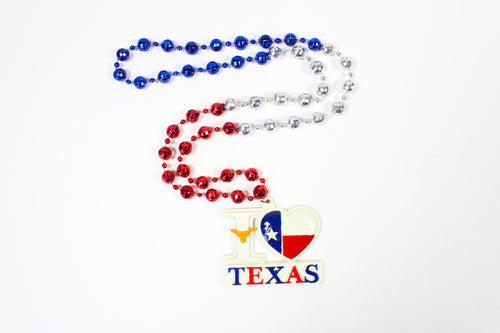 I Love Texas Bead