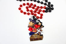 Pirate in a Gold Chest Bead