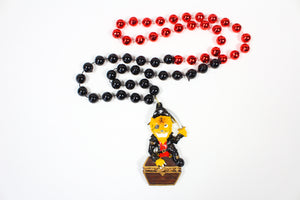 Rrrrr! Pirate Tiger with Gold Chest Bead