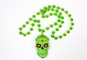 Sugar Skull Day of the Dead Bead (Multiple Colors)