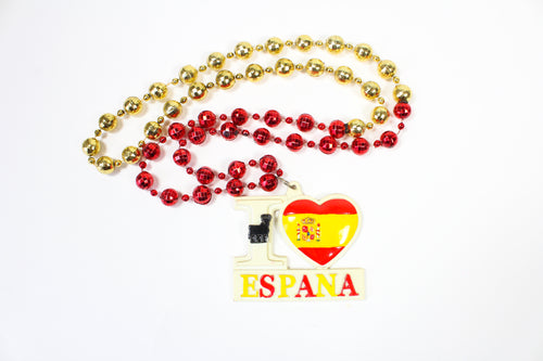 I Love Espana/Spain Bead