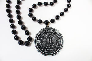 New Orleans Water Meter Medallion Bead