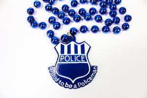 Proud to Be a Policeman Bead