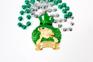 Happy St. Patrick's Day Bead