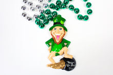 Leprechaun and His Pot of Gold Bead