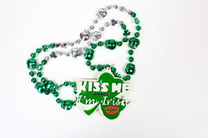 Kiss Me, I'm Irish Bead